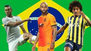 Brezilyalı futbolcular Avrupada nereye gidiyor Türkiye zirveye yaklaştı...