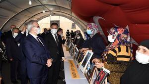 Diyarbakırdaki evlat nöbetinin 528inci gününde ailelere destek ziyareti