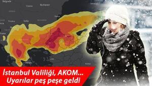 Bugün yaz, yarın kış Kar yağışı ne zaman gelecek İstanbula peş peşe uyarılar...