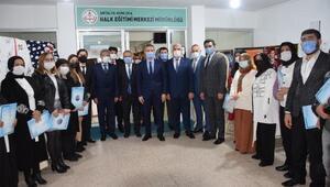 Milli Eğitim Müdürü Erden Kumlucaya ziyaret