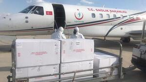 Türkiyeden gönderilen 40 bin doz aşı KKTCde