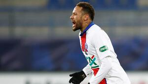PSGde Neymar sahalardan 4 hafta uzak kalacak