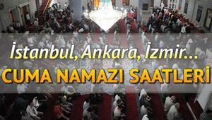 Cuma namazı saat kaçta kılınacak İşte Diyanet 12 Şubat İstanbul, Ankara, İzmir ve il il cuma namazı saatleri