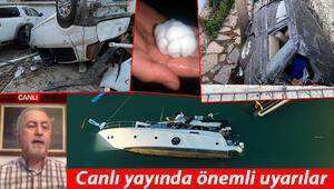 İzmir Çeşme felaketi yaşadı Meteorolojiden son dakika hortum açıklaması