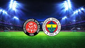 Fatih Karagümrük Fenerbahçe maçı ne zaman, saat kaçta ve hangi kanalda İşte müsabakanın ayrıntıları