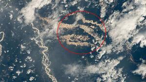 Amazonun altın nehirleri NASA fotoğraflarıyla ortaya çıktı