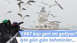 Son dakika: İstanbul kar yağışı beklentisi ile güne başladı Uzmanlardan 1987 kışı uyarısı