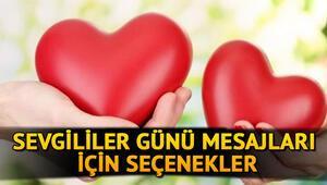 Sevgililer Günü mesajları için seçenekler - Resimli 14 Şubat Sevgililer Günü mesajı ve sözleri