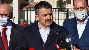 Bakan Bekir Pakdemirli, İzmirdeki hortum felaketi sonrası açıklamalarda bulundu