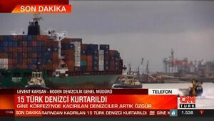 Nijerya açıklarında kaçırılan 15 Türk denizci kurtarıldı