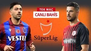 Trabzonsporda 2 sakat, artı 1 korona şüphesi Gaziantep FK karşısında iddaa oranı...