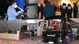 Kırıkkalede 2 yolcunun koronavirüslü çıktığı otobüsteki 31 kişi karantinaya alındı