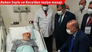 Elazığın kanaat önderlerinden Abdullah Nazırlı hayatını kaybetti Erdoğan ziyaret etmişti