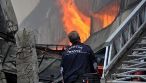 Trabzon'da itfaiyenin zor günü; 36 yangın söndürüldü