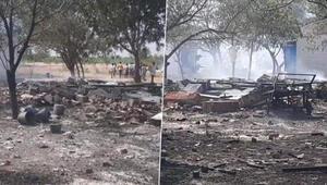 Hindistanda havai fişek fabrikasındaki yangında ölü sayısı arttı