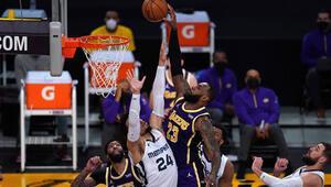 NBAde gecenin sonuçları: Los Angeles Lakers, Davis ve LeBron ile kazandı