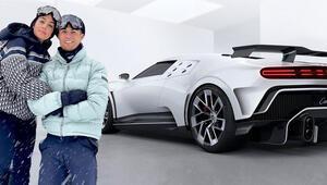 Cristiano Ronaldonun kendisine aldığı doğum günü hediyesi: Bugatti Centodieci