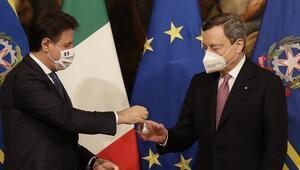 İtalyada Draghi hükümeti yemin ederek göreve başladı
