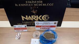 Eskişehirde uyuşturucu operasyonuna 1 tutuklama