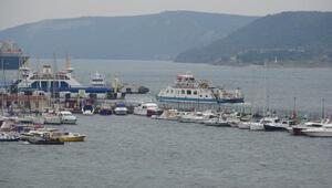 Gökçeada ve Bozcaadaya yarın yapılacak feribot seferleri iptal edildi
