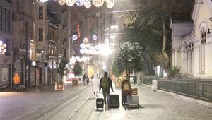 Son dakika: İstanbulda beklenen kar yağışı başladı