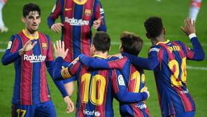Barcelona, Alavese gol yağdırdı