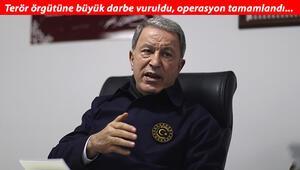 Son dakika: Bakan Akar acı haberi böyle duyurdu: PKKnın kalleş yüzü bir kez daha görüldü