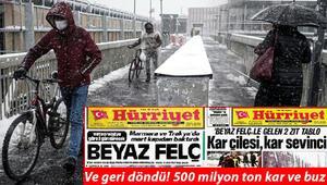 Meteoroloji'den son dakika yoğun kar yağışı uyarısı İşte İstanbul'da son durum…