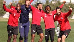Antalyasporda tek hedef galibiyet