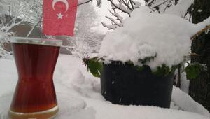 Manyasta kar etkili oldu
