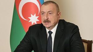 Aliyevden Cumhurbaşkanı Erdoğana Garadaki şehitler için başsağlığı mesajı