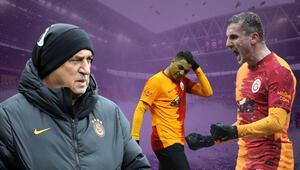 Galatasarayda karlı maça damgasını vurdu Fatih Terimin şaşırtan kararının sebebi...
