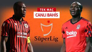 Beşiktaş, Ankaraya 5 eksikle gitti Gençlerbirliği karşısında galibiyetlerine iddaada...