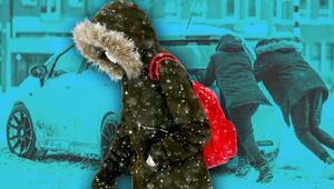 Kar yağışı devam edecek mi Yeni haftanın hava durumu...
