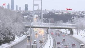 Haftanın ilk gününde İstanbulda trafik sakin