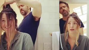 Instagram paylaşımları olay oldu: Aşk bazen onun saçını boyamaktır