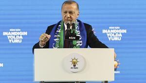 Cumhurbaşkanı Erdoğandan ABDye tepki: Bal gibi de PKKnın yanındasınız