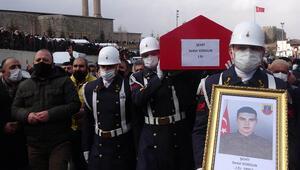 Erzurum'da Şehit Er Sedat Sorgun, gözyaşlarıyla son yolculuğuna uğurlandı