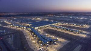 İstanbul Havalimanında uçuşlar kesintisiz devam ediyor