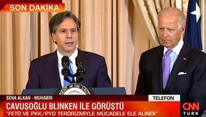 Bakan Çavuşoğlu, ABDli mevkidaşı Blinken ile görüştü