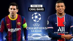 Messi mi, Mbappe mi Neymarın yokluğunda PSGnin Barcelona karşısında iddaa oranı...