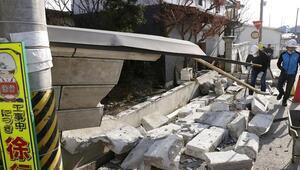 Fukuşimadaki 7,3lük depremde 160 kişi yaralandı