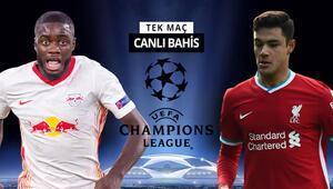 Liverpoolda Ozan Kabak ilk 11de olacak mı RB Leipzig karşısında galibiyetlerine iddaada...