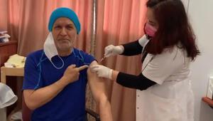 Talat Bulut koronavirüs aşısı oldu