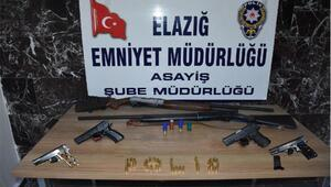 Elazığda, aranan şüphelilere yönelik operasyonda 33 tutuklama