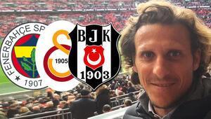 Efsane futbolcu Diego Forlandan Beşiktaş, Fenerbahçe ve Galatasaray itirafı
