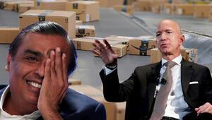 2 dev şirket mahkemelik oldu Jeff Bezos ve Hindistanın en zengin kişisi karşı karşıya geldi