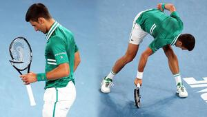 Novak Djokovic çıldırdı Raketini paramparça etti ve devamında yarı finale yükseldi