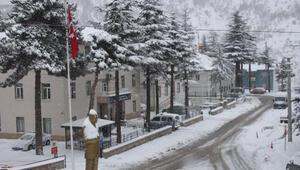 Kar, Orta Toroslarda da etkili oldu