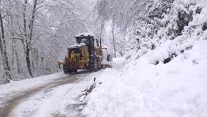 Cidede kardan kapanan 20 köy yolu, ulaşıma açıldı